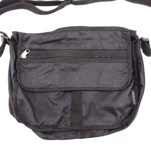 American Tourister Carry On Messenger Bag Black